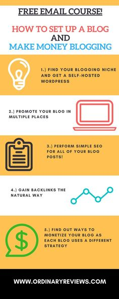 Subscribe and get a free email course on how to set up a blog the right way and make money blogging. I've experimented with different money-making techniques throughout my time blogging, and I would love to give suggestions to you guys on how to monetize your blog.