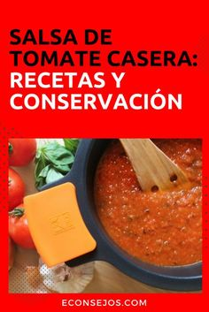 Salsa de tomate casera My Recipes, Italian Recipes, Mexican Food Recipes, Cake Recipes, Salsa Tomate, Empanadas, Barbacoa, Ketchup, Deli