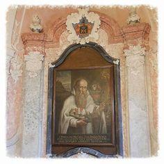 Romualdus van Ravenna, abt en stichter van de orde van Camaldulenzers. #Majk #klooster #Hongarije #cultureelerfgoed #