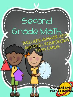 second grade math mixed skills review and printable math posters
