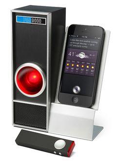 ThinkGeek :: IRIS 9000 Voice Control Module for iPhone & Siri