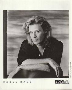 Daryl Hall 1980's Vintage RCA Promo Press Photo