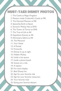 25 Must-Take Disney Photos. I would take these, but at Disneyland. Some of them aren't at Disneyland, but I won't care 'cause when I take these, my best friend will be in the photo with me. Walt Disney World, Mundo Walt Disney, Disney World Planning, Disney World Vacation, Disney Vacations, Disney Parks, Disney Travel, Florida Vacation, Florida 2017