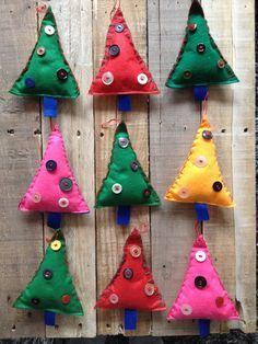 Stoffen hangers van Gernaai op DaWanda.com