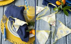 How To: Pennant Napkin Rings on PaulaDeen.com