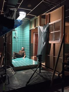 This Photographer Builds Each of His Sets by Hand Photography Set Up, Narrative Photography, Lighting Setups, Studio Lighting, Magnum Opus, Cinematic Lighting, Palazzo, Neon Bedroom, Stage Set Design