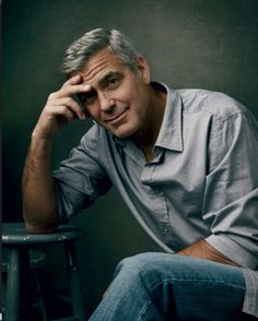 George Clooney x Vanity Fair by Annie Leibovitz