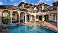 Mediterranean House Plans With Courtyard House Plans With Courtyards Lovely Models O The Worlds Catalog Of Ideas Mediterranean Style House Plans With Courtyard Mediterranean House Plans, Mediterranean Architecture, Mediterranean Decor, Tuscan House Plans, Mediterranean Bathroom, Spanish Architecture, Architecture Interiors, House Architecture, Spanish Style Homes