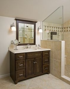 Custom Designed Bathroom Vanities - Montgomery County PA