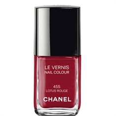 CHANEL - LE VERNIS NAIL COLOUR - Lotus Rouge - More about #Chanel on http://www.chanel.com