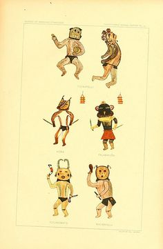 http://publicdomainreview.org/collections/hopi-drawings-of-kachinas/