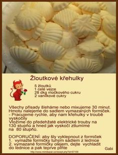 Via nocne pecivo Candy Recipes, Baking Recipes, Sweet Recipes, Cookie Recipes, Christmas Sweets, Christmas Candy, Christmas Cookies, How Sweet Eats, Four