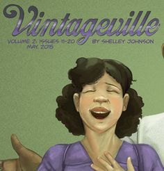 Volume two now available #vintageville #indiecomics
