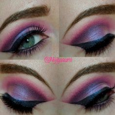Romantic Valentine by Emily H. Click the pick to see the video tutorial. #makeup #beauty #valentinesday