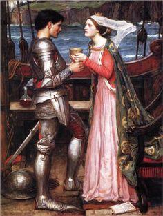 Tristram and Isolde - John William Waterhouse