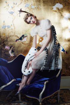 nastya kusakina by lena manakai for elle kazakhstan december 2015   visual optimism; fashion editorials, shows, campaigns & more!