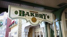 Love the Main Street Bakery in Magic Kingdom