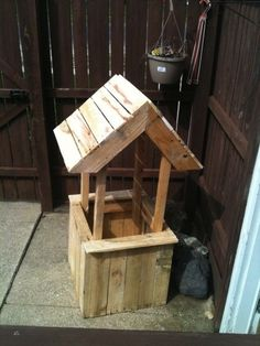 image3 600x4501 Well flower planter from old pallets in pallet outdoor project  with Planter Pallets