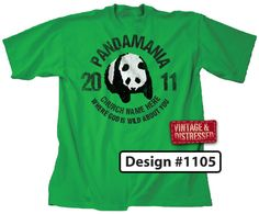 Pandamania VBS T-Shirt Design