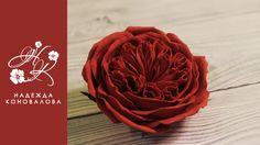 Как сделать пионовидную розу розу Девида Остина из фоамирана подробный...