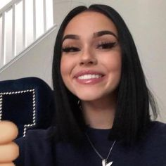 Grafika Mädchen, Make-up und Maggie Lindemann Bad Girl Aesthetic, Aesthetic Hair, Beauty Makeup, Hair Makeup, Hair Beauty, Dye My Hair, New Hair, Blonde Color, Hair Color