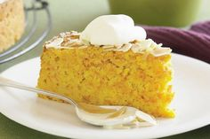Carrot, Almond And Orange Cake by Taste. Moist and crumbly, this afternoon-tea cake is easy to whip up in your food processor. Almond Recipes, Baking Recipes, Cake Recipes, Dessert Recipes, Food Cakes, Cupcake Cakes, Cupcakes, Orange And Almond Cake, Orange Cakes