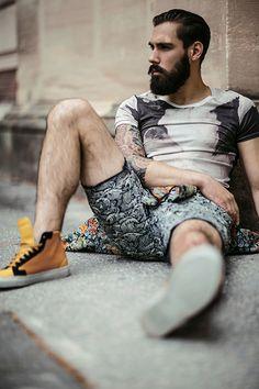 Photographe : Ben Fohrer / Model : Samuel from Rockmen Agency / Stylist : Joan Tran Hieu / Hair-MUA : David Barral
