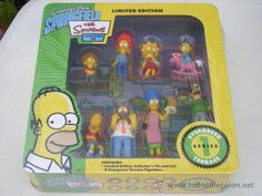 """""""Greetings from Springfield"""" de THE SIMPSONS. Serie 1"""