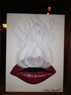 ... smoke the o jays drawings red tattoo ideas lips paintings tattoos and