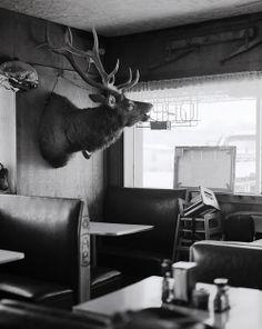 valscrapbook:  Diner in Loa, Utah by Mike Friberg on Flickr.