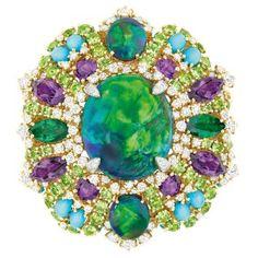 Dear Dior Bouquet d'Opales ring (front) - photo via Dior