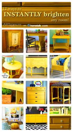 Check out these gorgeous yellow designs!