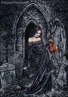 ☆ Violino :¦: By Artist Victoria Frances ☆