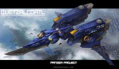 Panzer Project-Quetzalcoatl (Pacific Rim Inspired) by *emersontung on deviantART