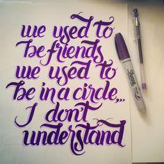 "#musiquitarica #chetfaker #1998 ""we used to be friends... """