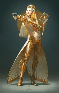 ArtStation - Character Design, X Yang