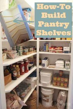 Kitchen Pantry Shelving Ideas