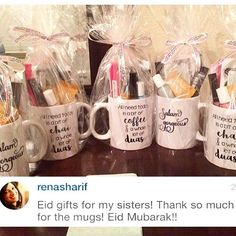 If you're out of Ramadan and eid gift ideas, here's one an awesome customer shared with us!