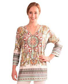 Womens Pastel Print Tunic $69