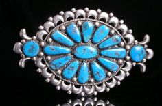 Navajo silver and turquoise