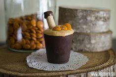 All in One: Mousse de dulce de leche con Lacasitos Gold (en vasitos comestibles)