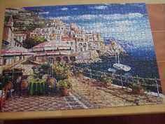 Italian scene. 1,000 pieces. May 2015. Jigsaw Puzzles, City Photo, Scene, Puzzles, Puzzle, Stage