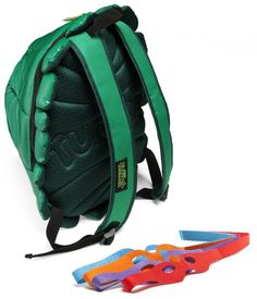 TMNT Shell Backpack with Masks! Cowabunga!