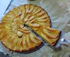 Tarta de manzana sin azúcar   Cocinar en casa es facilisimo.com