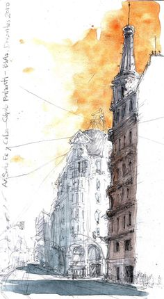 Urban Sketchers: architecture