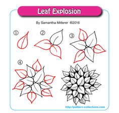 Leaf Explosion by Samantha Mitterer