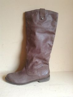 Athleta OTBT Petaluma Leather boots Size 9M Mink SOLD OUT $199 FREE SHIP