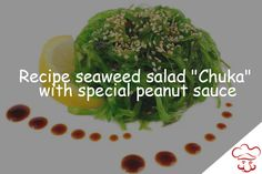 """Recipe seaweed salad """"Chuka"""": http://blogcook.info/the-original-recipe-seaweed-salad-chuka-with-special-peanut-sauce.html This is a traditional Japanese dish dietary source of iodine, vitamins and minerals. Perfectly burn excess fats and is considered extremely useful product. Recommend Chuka salad in the diet in winter and spring seasons, when the body especially needs vitamins. Preparing it is very simple and comprises only two main components: algae and walnut sauce."""