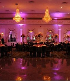 Lighting can transform a good wedding venue into a spectacular wedding venue, perfectly tailored to your taste and event. Check out our many lighting options, chances are, if you can dream it, we can do it.
