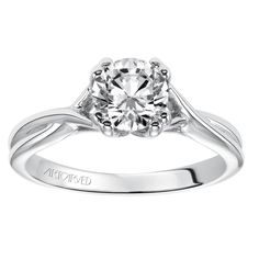 Semi-Mount Ring 001-140-00622 | Engagement Rings from Parkers' Karat Patch | Asheville, NC